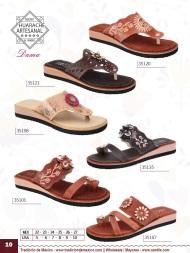 Tradicion de Mexico Vol 22 Zapatos Artesanales Huaraches Cintos Cartera Nantlis Pag 10