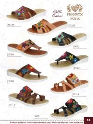 Tradicion de Mexico Vol 22 Zapatos Artesanales Huaraches Cintos Cartera Nantlis Pag 11