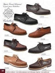 Tradicion de Mexico Vol 22 Zapatos Artesanales Huaraches Cintos Cartera Nantlis Pag 14
