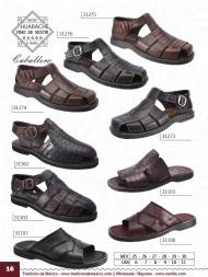 Tradicion de Mexico Vol 22 Zapatos Artesanales Huaraches Cintos Cartera Nantlis Pag 16