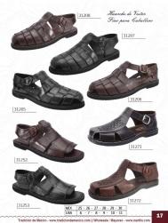 Tradicion de Mexico Vol 22 Zapatos Artesanales Huaraches Cintos Cartera Nantlis Pag 17