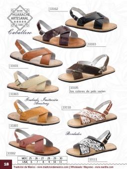 Tradicion de Mexico Vol 22 Zapatos Artesanales Huaraches Cintos Cartera Nantlis Pag 18