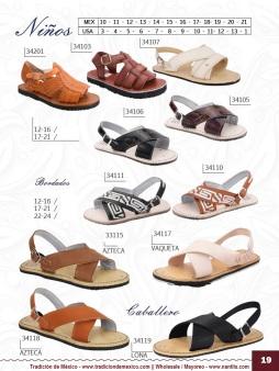 Tradicion de Mexico Vol 22 Zapatos Artesanales Huaraches Cintos Cartera Nantlis Pag 19