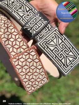 Tradicion de Mexico Vol 22 Zapatos Artesanales Huaraches Cintos Cartera Nantlis Pag 20