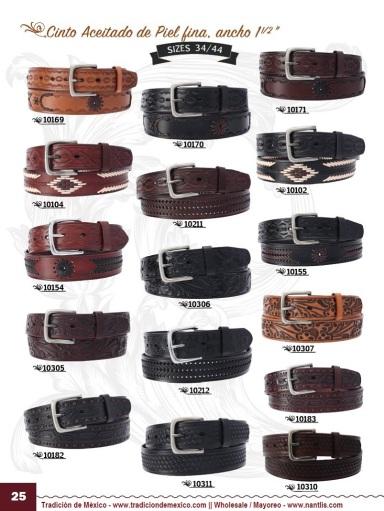 Tradicion de Mexico Vol 22 Zapatos Artesanales Huaraches Cintos Cartera Nantlis Pag 25