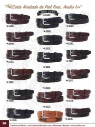 Tradicion de Mexico Vol 22 Zapatos Artesanales Huaraches Cintos Cartera Nantlis Pag 35