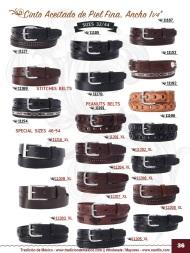 Tradicion de Mexico Vol 22 Zapatos Artesanales Huaraches Cintos Cartera Nantlis Pag 36