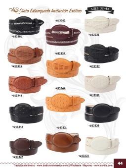 Tradicion de Mexico Vol 22 Zapatos Artesanales Huaraches Cintos Cartera Nantlis Pag 44