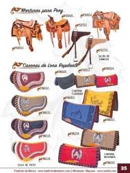 Tradicion de Mexico Vol 23 Accesorios para Charros y Caballos Nantlis page 35