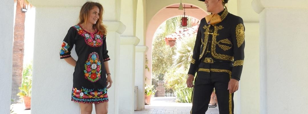 Trajes de Charro y Vestidos Bordados Mayoreo Wholesale Charro suits and Embroidered Dresses Tradicion de Mexico by Nantlis