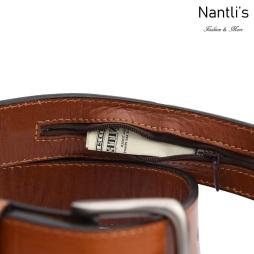 TM-10863 zipper Cinto Vaquero Charro de Vestir Mayoreo Wholesale Western Charro casual Belt Nantlis Tradicion de Mexico