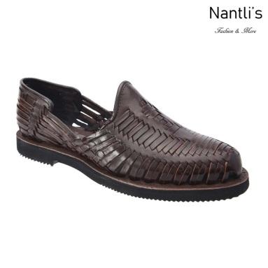 TM-31262 Zapatos Tejidos Mexicanos de hombres Huaraches Mayoreo wholesale mens Mexican handwoven shoes Nantlis Tradicion de Mexico