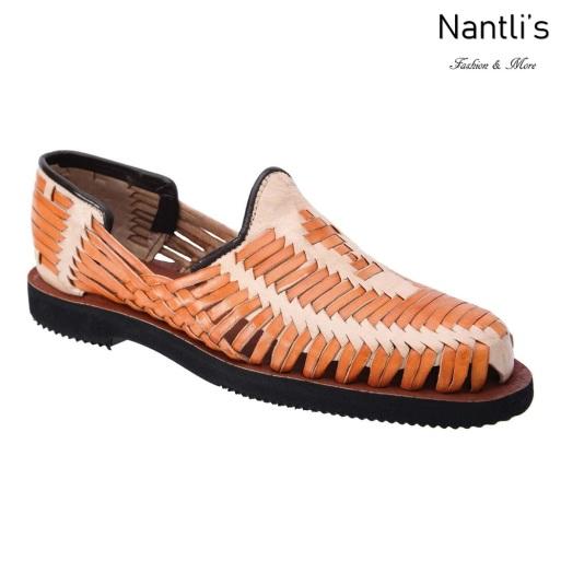 TM-31263 Zapatos Tejidos Mexicanos de hombres Huaraches Mayoreo wholesale mens Mexican handwoven shoes Nantlis Tradicion de Mexico