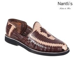 TM-31264 Zapatos Tejidos Mexicanos de hombres Huaraches Mayoreo wholesale mens Mexican handwoven shoes Nantlis Tradicion de Mexico