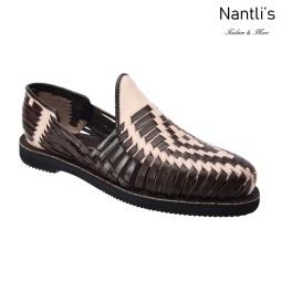 TM-31265 Zapatos Tejidos Mexicanos de hombres Huaraches Mayoreo wholesale mens Mexican handwoven shoes Nantlis Tradicion de Mexico
