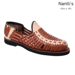 TM-31266 Zapatos Tejidos Mexicanos de hombres Huaraches Mayoreo wholesale mens Mexican handwoven shoes Nantlis Tradicion de Mexico