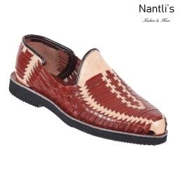 TM-31281 Zapatos Tejidos Mexicanos de hombres Huaraches Mayoreo wholesale mens Mexican handwoven shoes Nantlis Tradicion de Mexico
