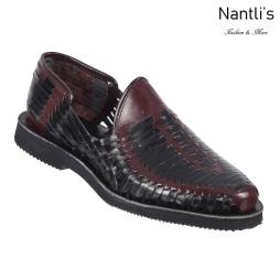 TM-31282 Zapatos Tejidos Mexicanos de hombres Huaraches Mayoreo wholesale mens Mexican handwoven shoes Nantlis Tradicion de Mexico