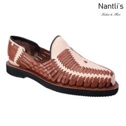 TM-31284 Zapatos Tejidos Mexicanos de hombres Huaraches Mayoreo wholesale mens Mexican handwoven shoes Nantlis Tradicion de Mexico