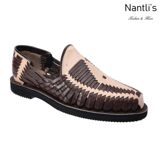 TM-31285 Zapatos Tejidos Mexicanos de hombres Huaraches Mayoreo wholesale mens Mexican handwoven shoes Nantlis Tradicion de Mexico