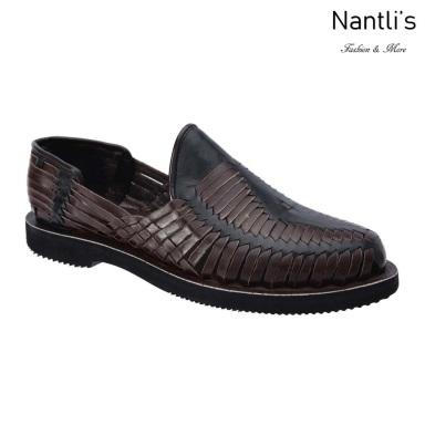 TM-31286 Zapatos Tejidos Mexicanos de hombres Huaraches Mayoreo wholesale mens Mexican handwoven shoes Nantlis Tradicion de Mexico