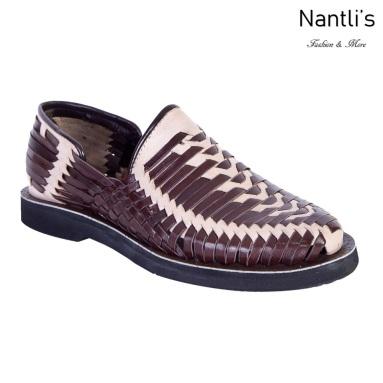 TM-31288 Zapatos Tejidos Mexicanos de hombres Huaraches Mayoreo wholesale mens Mexican handwoven shoes Nantlis Tradicion de Mexico