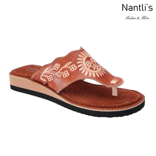 TM-35120 Huaraches Mexicanos de Mujer Mayoreo Wholesale Womens Mexican Sandals Nantlis Tradicion de Mexico
