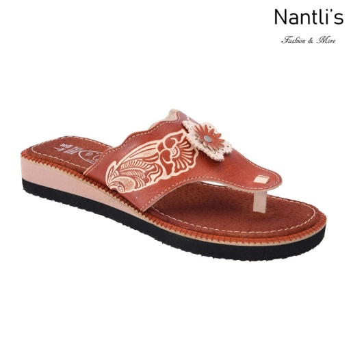 TM-35161 Huaraches Mexicanos de Mujer Mayoreo Wholesale Womens Mexican Sandals Nantlis Tradicion de Mexico