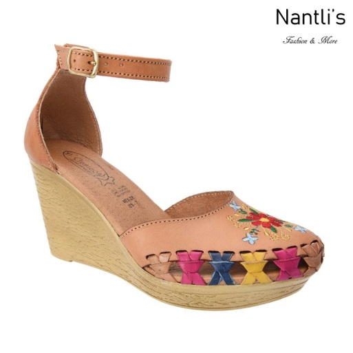 TM-35331 Zapatos Tejidos y Bordados Mexicanos de Mujer Mayoreo Wholesale Womens Mexican Embroidered and handwoven shoes wedges Nantlis Tradicion de Mexico