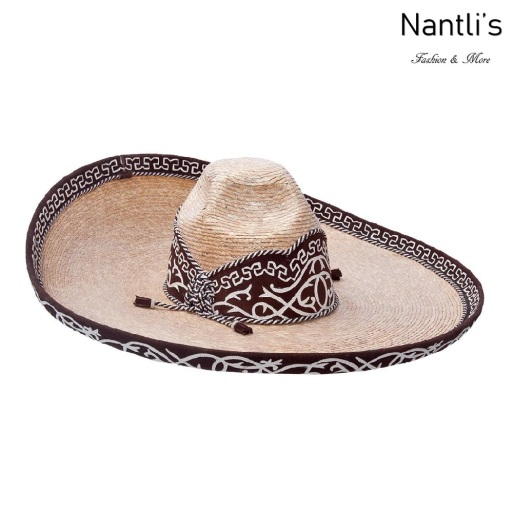 sombreros charros mayoreo TM-71121 Sombrero Charro de paja Galoneado fine charro hat Nantlis Tradicion de Mexico