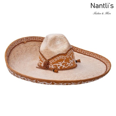 sombreros charros mayoreo TM-71122 Sombrero Charro de paja Galoneado fine charro hat Nantlis Tradicion de Mexico