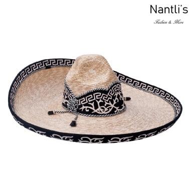 sombreros charros mayoreo TM-71124 Sombrero Charro Joven de paja Galoneado fine charro junior hat Nantlis Tradicion de Mexico