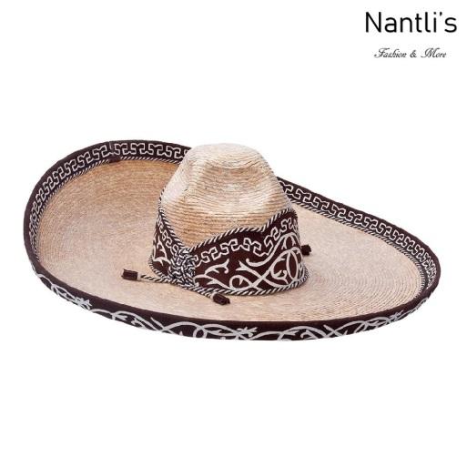 sombreros charros mayoreo TM-71126 Sombrero Charro Joven de paja Galoneado fine charro junior hat Nantlis Tradicion de Mexico