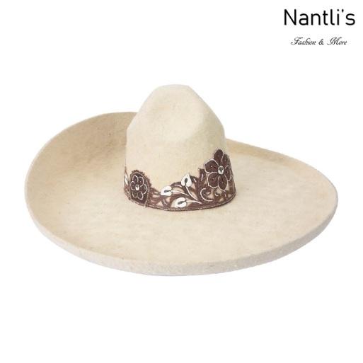 sombreros charros mayoreo TM-71144 Sombrero Charro fino Pelo de Conejo Fine Charro Hat Nantlis Tradicion de Mexico