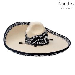 sombreros charros mayoreo TM-71145 Sombrero Charro Galoneado Forrado con Lana Fine Charro Hat Nantlis Tradicion de Mexico