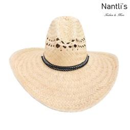 sombreros de paja mayoreo TM-71179 Sombrero de palma palm leaf hat Nantlis Tradicion de Mexico