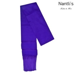 TM-75110-Y Purple Rebozo Chalina Mexicana mayoreo wholesale Mexican Shawl Cravat 65x18 Nantlis Tradicion de Mexico