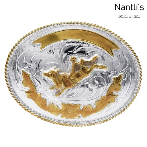 TM-20154 Hebilla vaquera Mayoreo Wholesale mexican western belt buckle Nantlis Tradicion de Mexico
