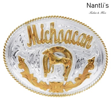 TM-20157 Hebilla vaquera Mayoreo Wholesale mexican western belt buckle Nantlis Tradicion de Mexico