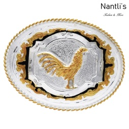 TM-20162 Hebilla vaquera Mayoreo Wholesale mexican western belt buckle Nantlis Tradicion de Mexico