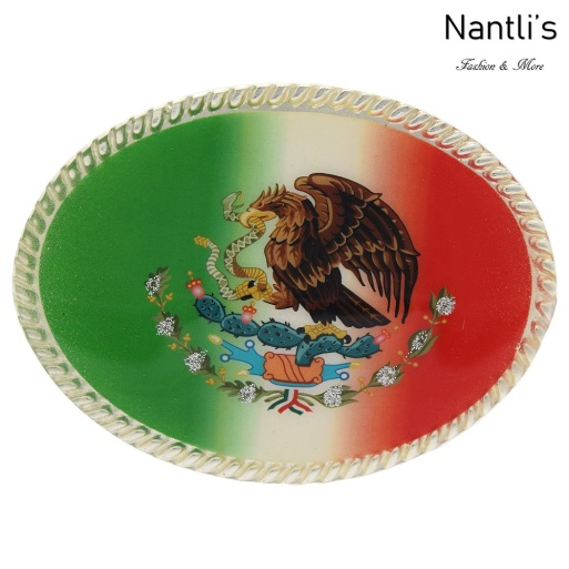 TM-20286 Hebilla vaquera Mayoreo Wholesale mexican western belt buckle Nantlis Tradicion de Mexico