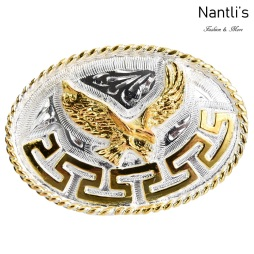 TM-20305 Hebilla vaquera Mayoreo Wholesale mexican western belt buckle Nantlis Tradicion de Mexico