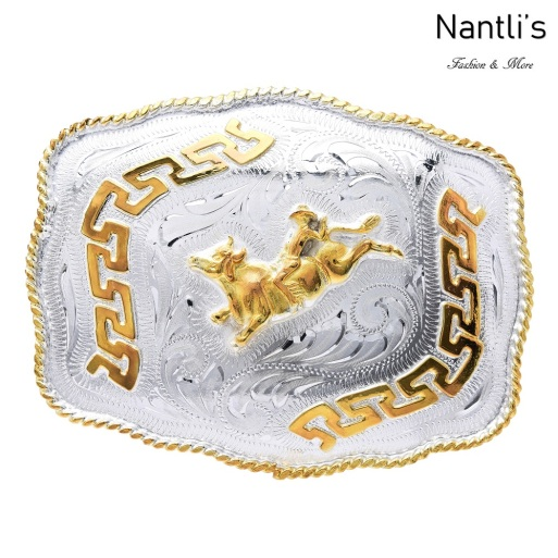 TM-21111 Hebilla vaquera Mayoreo Wholesale mexican western belt buckle Nantlis Tradicion de Mexico