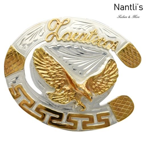 TM-23117 Hebilla vaquera Mayoreo Wholesale mexican western belt buckle Nantlis Tradicion de Mexico