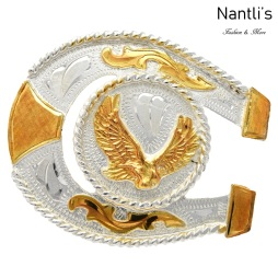 TM-23123 Hebilla vaquera Mayoreo Wholesale mexican western belt buckle Nantlis Tradicion de Mexico