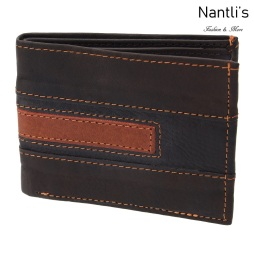 TM-41191 Carteras de piel Mayoreo Wholesale Leather Wallets Nantlis Tradicion de Mexico
