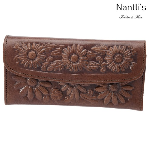 TM-41211 Carteras finas de piel para mujer Mayoreo Wholesale Fine Leather Wallets for women Nantlis Tradicion de Mexico