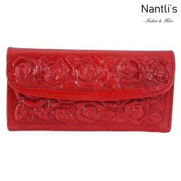 TM-41212 Carteras finas de piel para mujer Mayoreo Wholesale Fine Leather Wallets for women Nantlis Tradicion de Mexico