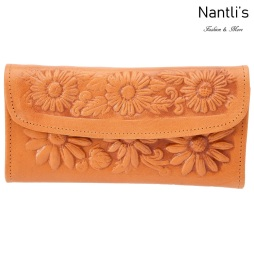 TM-41214 Carteras finas de piel para mujer Mayoreo Wholesale Fine Leather Wallets for women Nantlis Tradicion de Mexico