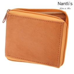 TM-41541 Carteras de piel Mayoreo Wholesale Leather Wallets Nantlis Tradicion de Mexico